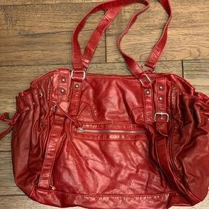 Red Icing purse